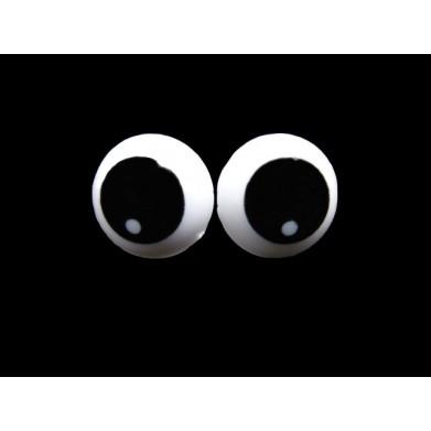 Ojos de seguridad diámetro 1,5 cm