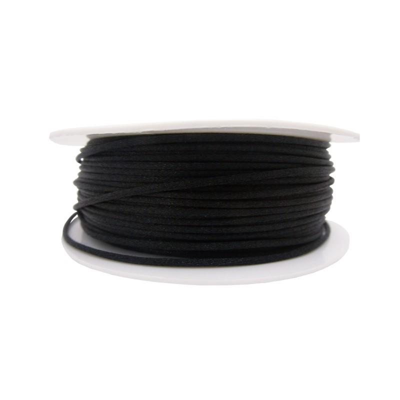 Cola ratón Ø 1 mm (negro)