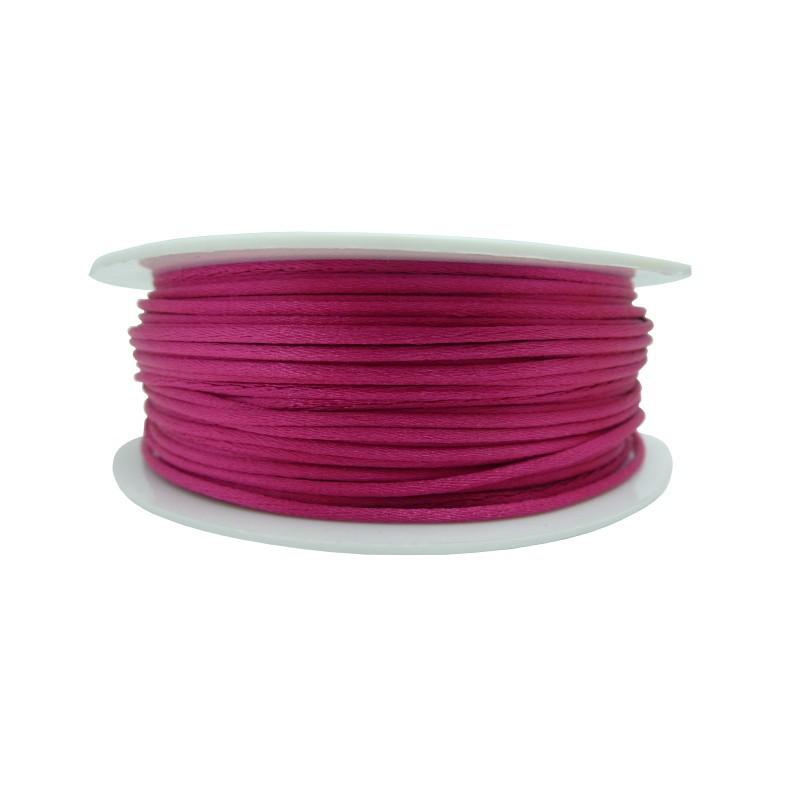 Cola ratón Ø 1 mm (rosa fucsia)