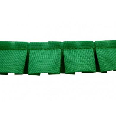 Plisado tablas verde 2 cm