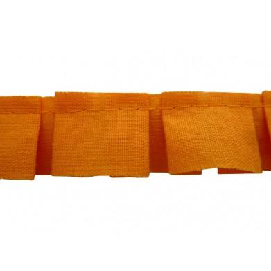 Plisado tablas naranja 2 cm