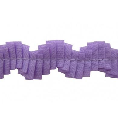 Plisado zig zag lila 1,5 cm