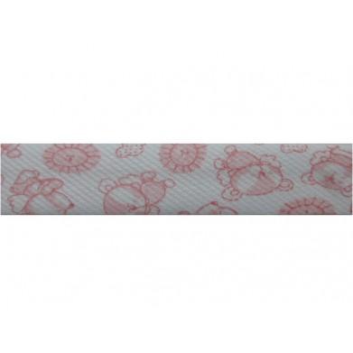 Bies osos rosas (18 mm)