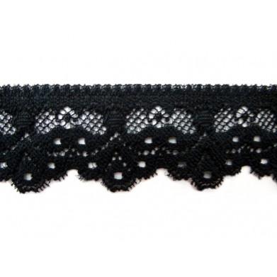 Nylon negra 3 cm