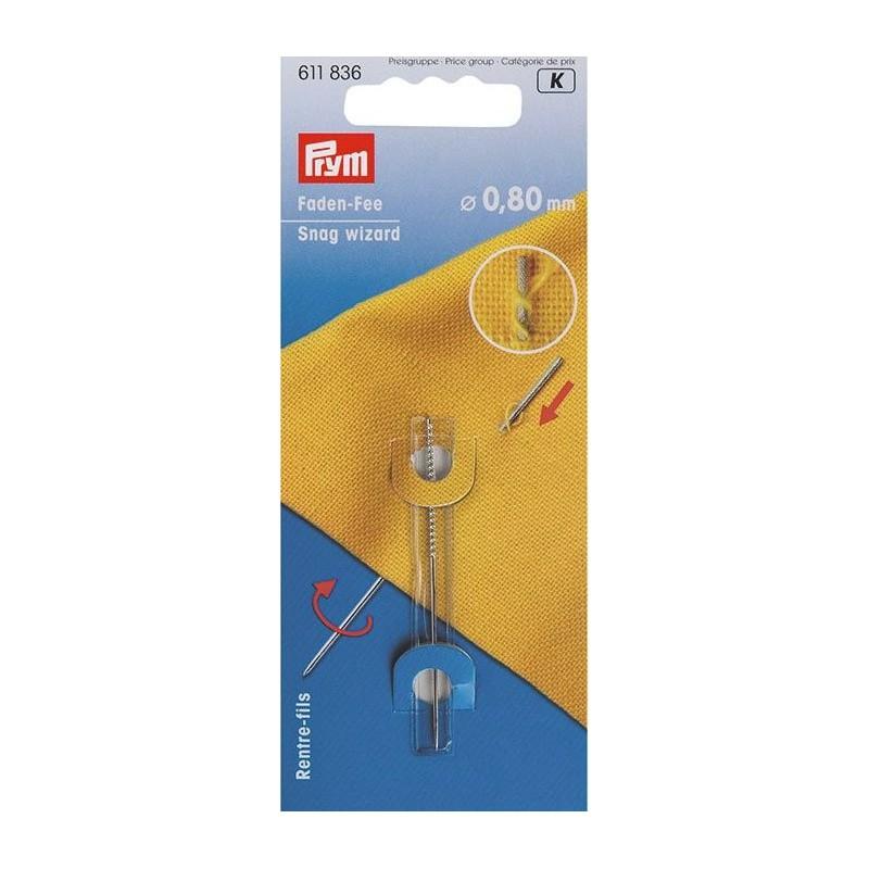 Aguja mágica que repara enganches 0,8 mm