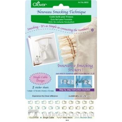 Guía fácil para fruncidos (punto cordón)