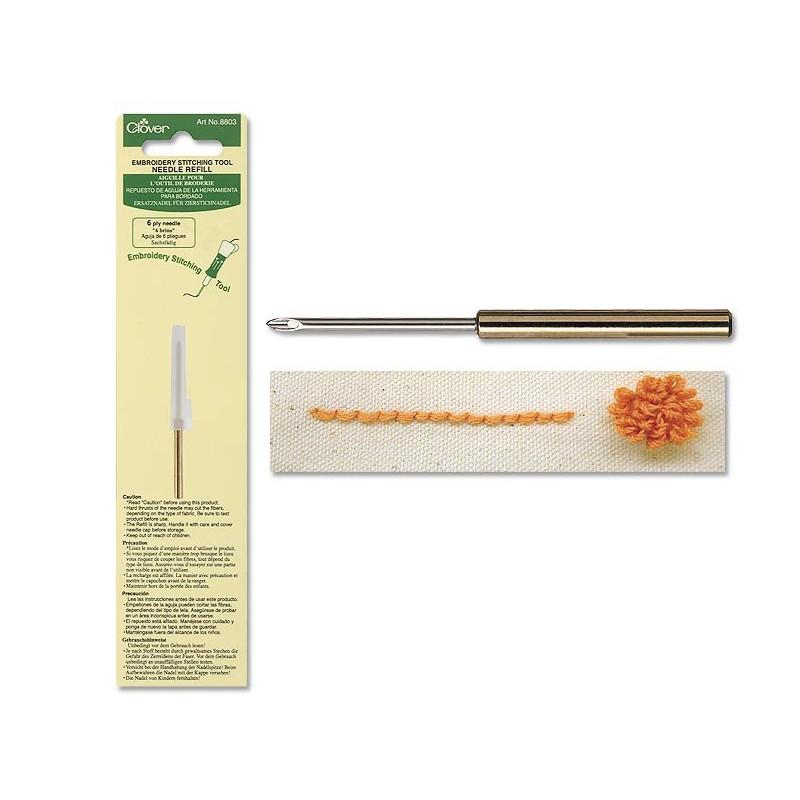 Repuesto de aguja de la herramienta para bordado