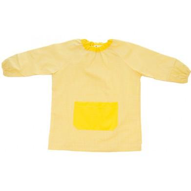 Mandilón cuello Goma amarillo