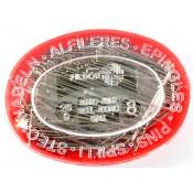 Alfileres acero innoxidable 34mm, 25gr