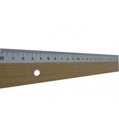 Regla de madera 60 cm