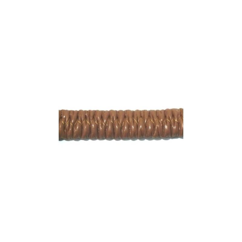 Polipiel marrón claro elástico