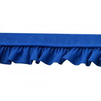 Vivo con fruncido azul (2,5 cm)