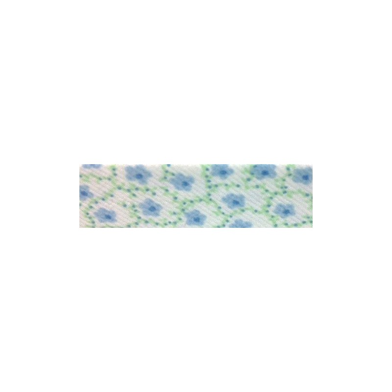 Bies - flores azules (18 mm)