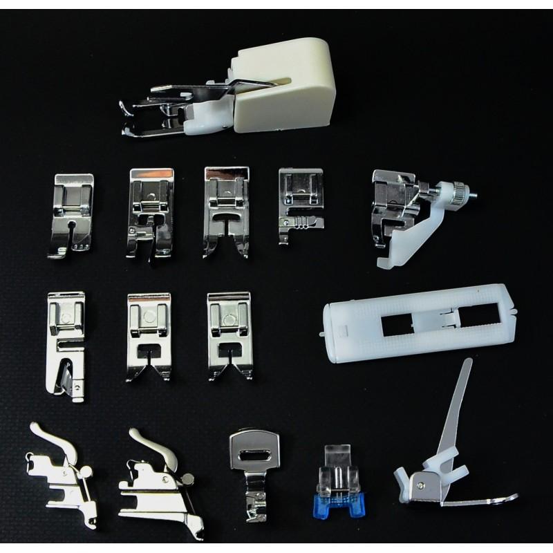 Estuche de prensatelas doméstico (15 unidades)