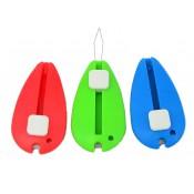 Enhebrador agujas colores con cortahilo