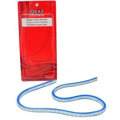 Regla flexible para curvas 60cm