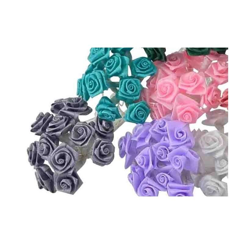 Ramillete de flores de tela