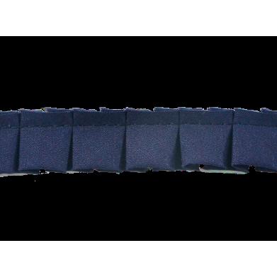 Plisado tablas azul 2cm