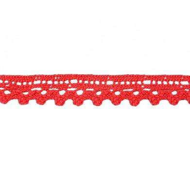Puntilla hilo coral 1,5 cm