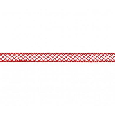 Entredós hilo fino rojo 1 cm