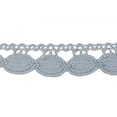 Guipur gris 2,5 cm