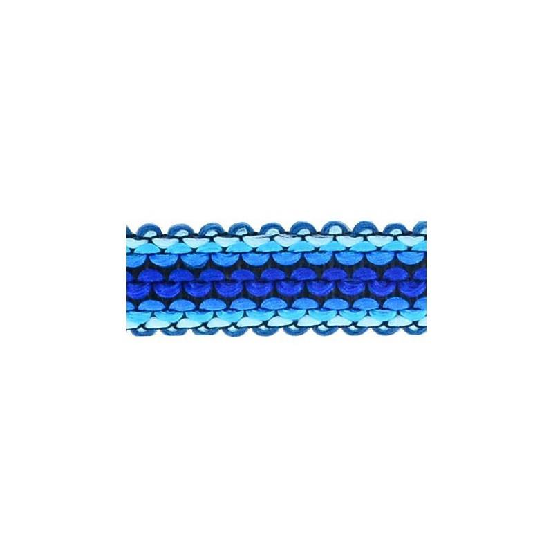 Tapacosturas tonos azules