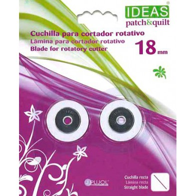 Cuchilla recta para cortador rotativo 18mm IDEAS