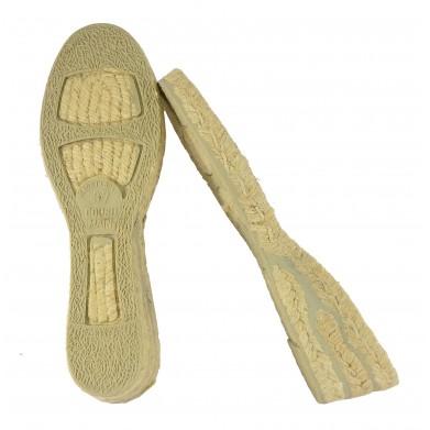 Suela de alpargata cuña 5cm