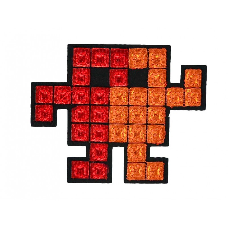 Aplique robot tetris 5 cm x 7 cm