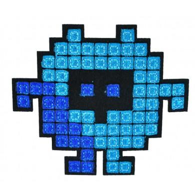 Aplique robot tetris 7 cm x 8 cm