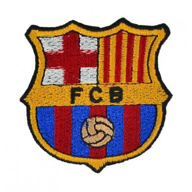 Aplique escudo Barça 6,5 cm x 6,5 cm