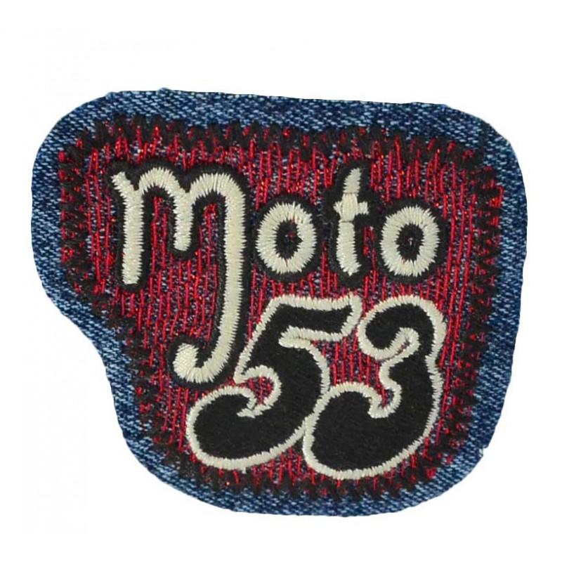 Aplique Moto 53 6 cm x 7 cm