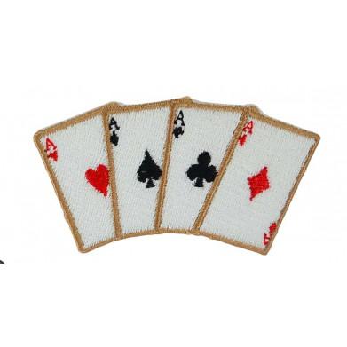 Aplique  poker 4 cm x 8 cm