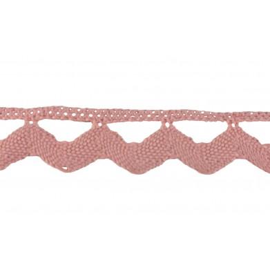 Guipur rosa 3 cm
