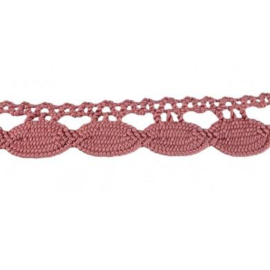 Guipur rosa 2,5 cm