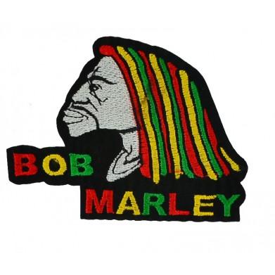 Aplique Bob Marley 8 cm x 9,5 cm