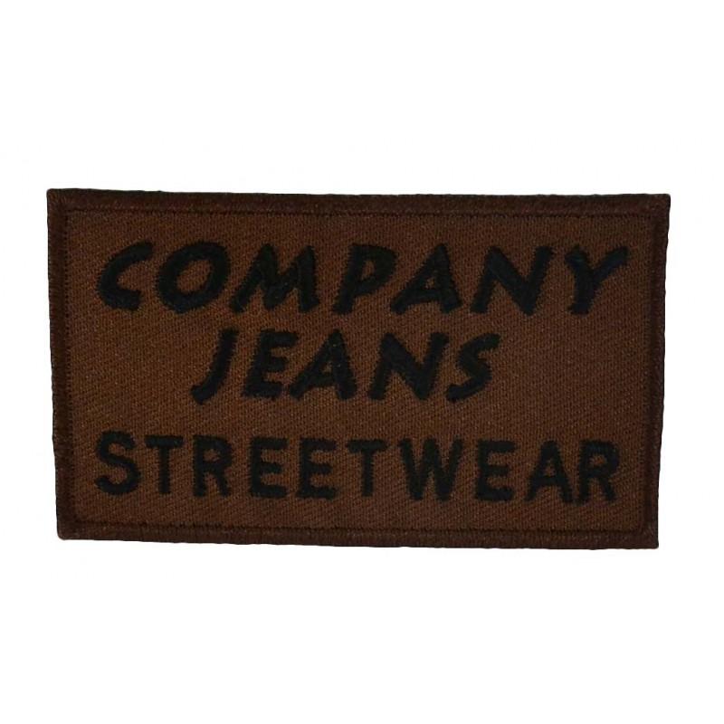 Aplique Company jeans 4 cm x 7 cm