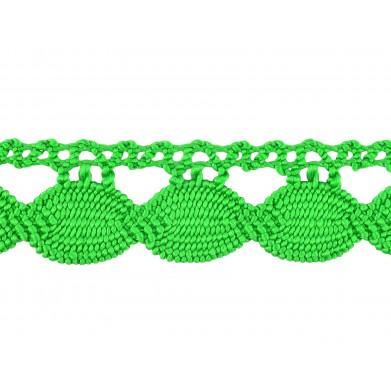Guipur verde 2.5 cm