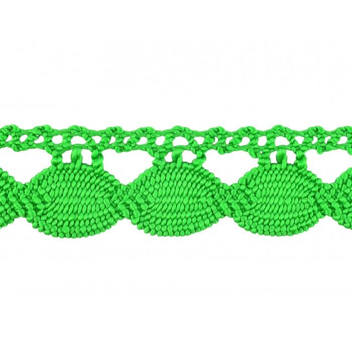 Comprar puntilla guipur verde 3 cm online merceria sarabia for Ondulina verde