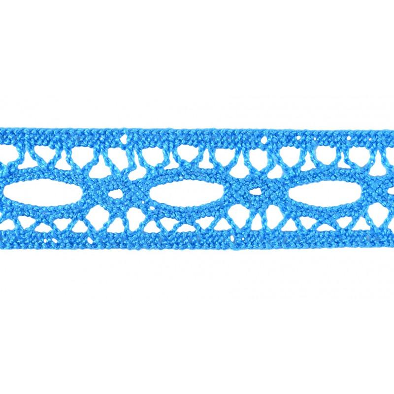 Puntilla hilo azul 2 cm