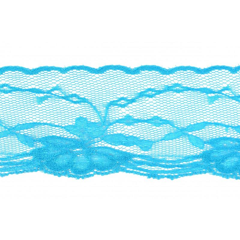 Puntilla nylon azul 5 cm