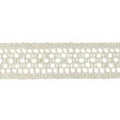 Entredós hilo rústico 4 cm