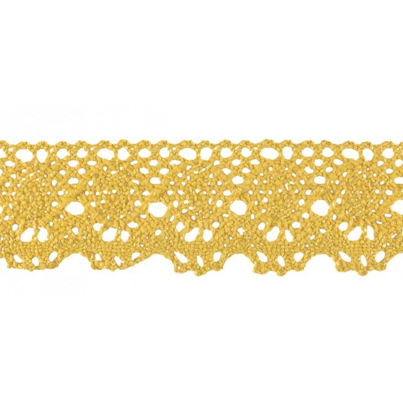 Puntilla hilo marrón 3,5 cm