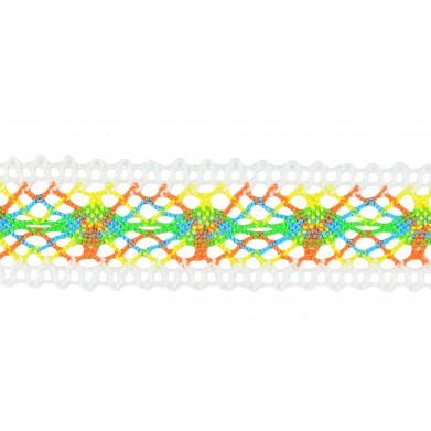Entredós hilo colores 3 cm