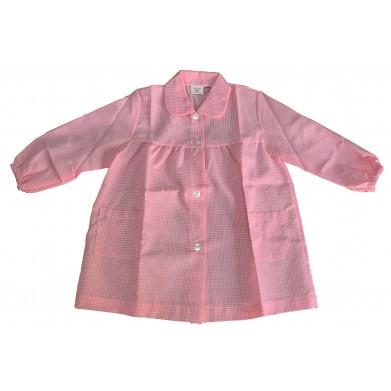 Mandilón cuadros rosa