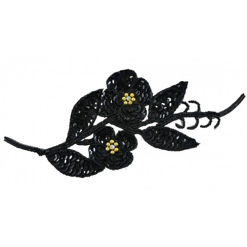 Flores lentejuelas
