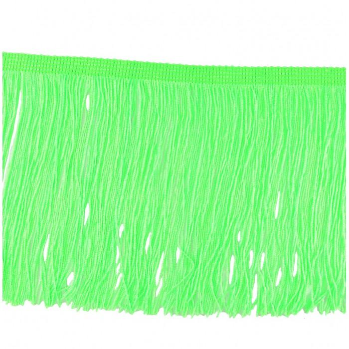 Venta de flecos para ropa verde fl or 15 cm merceria sarabia for Ondulina verde