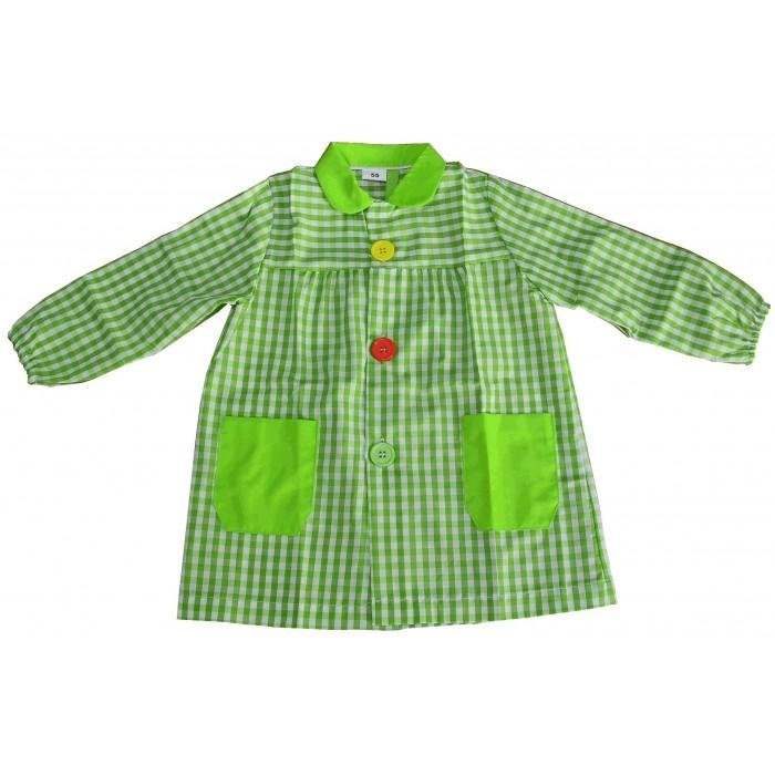 Comprar mandil n colegio verde pistacho merceria sarabia for Ondulina verde