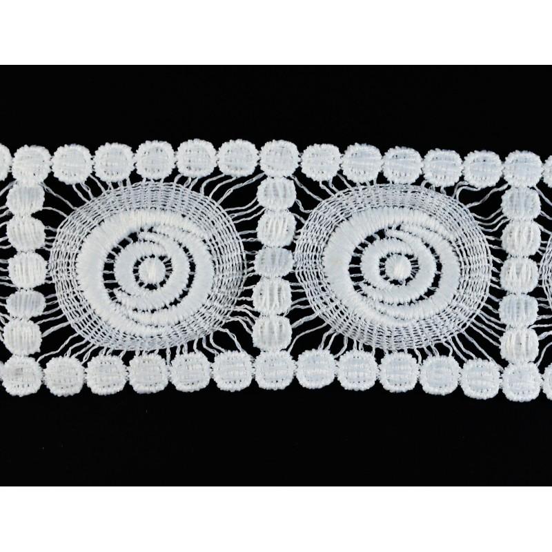 Puntilla hilo blanca 5,5 cm