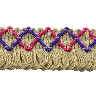 Fleco de lana 2,5 cm